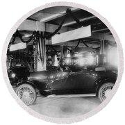 Westcott Automobiles, 1917 Round Beach Towel