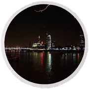 Westminster - London Round Beach Towel