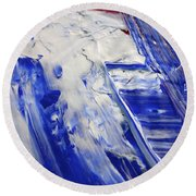 Wet Paint 58 Round Beach Towel
