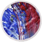 Wet Paint 61 Round Beach Towel