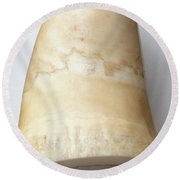Whale Tooth Round Beach Towel