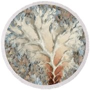 What Do You See - Two Round Beach Towel