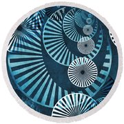 Wheel In The Sky 1 Round Beach Towel