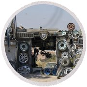 Wheels For Sale Mexico Round Beach Towel