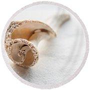 Whelk Shell New Jersey Beach Round Beach Towel