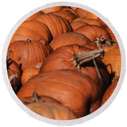 Which One Is The Great Pumpkin Round Beach Towel