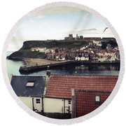 Whitby Round Beach Towel
