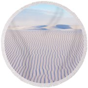 White Sands Serenity Round Beach Towel