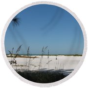 Whitesand Beach Round Beach Towel
