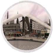 Whittle Arch Coventry Round Beach Towel