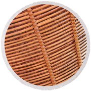 Wicker #2 Round Beach Towel