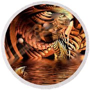 Wickerlight Round Beach Towel