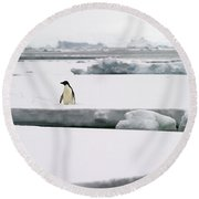 Wide Open Spaces... Round Beach Towel