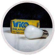 Wiko Enlarger Lamp Round Beach Towel