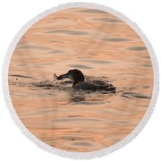 Wild Caught Round Beach Towel