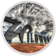 Wildwood Round Beach Towel