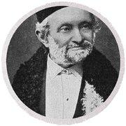 Wilhelm Eduard Weber (1804-1891) Round Beach Towel