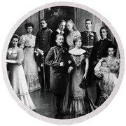 Wilhelm II (1859-1941) Round Beach Towel