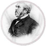 William Burnham Woods (1824-1887) Round Beach Towel