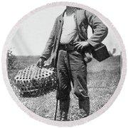 William Dinwiddie (1867-1934) Round Beach Towel