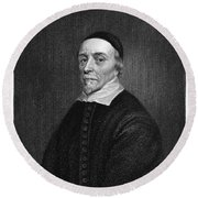 William Harvey (1578-1657) Round Beach Towel