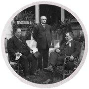 William Howard Taft(1857-1930) Round Beach Towel