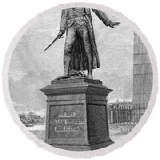 William Prescott (1726-1795) Round Beach Towel