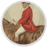 William Ward Tailby Round Beach Towel