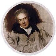 William Wilberforce (1759-1833) Round Beach Towel
