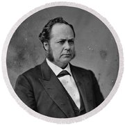 William Windom (1827-1891) Round Beach Towel