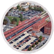 Wilmington Amtrak Round Beach Towel