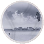 Wind Beneath My Wing Round Beach Towel