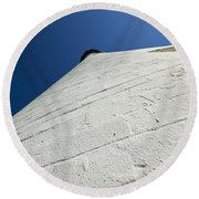 Wind Point Lighthouse 142 Round Beach Towel