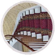 Winding Staircase Round Beach Towel