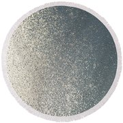 Window Ice-5053 Round Beach Towel