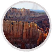 Windows Of Rock Round Beach Towel