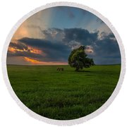 Windows Sd Round Beach Towel