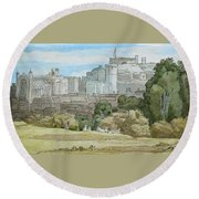 Windsor Round Beach Towel