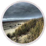 Windswept Round Beach Towel