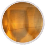 Wine Abstract Round Beach Towel