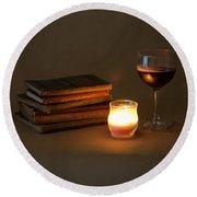 Wine And Wonder C - Square Round Beach Towel