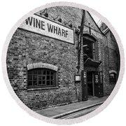 Wine Warehouse Round Beach Towel
