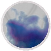 Winter Approaches By Jrr Round Beach Towel