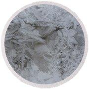 Winter Wonderland Series #01 Round Beach Towel