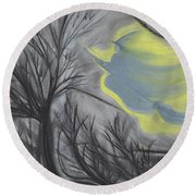 Witch Wood By Jrr Round Beach Towel