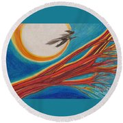Witches' Branch 1 By Jrr Round Beach Towel