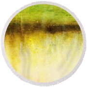Wither Whispers I Round Beach Towel