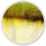 Wither Whispers IIi Round Beach Towel by Brett Pfister