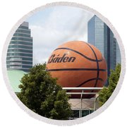 Women's Basketball Hall Of Fame Knoxville Tennessee Round Beach Towel
