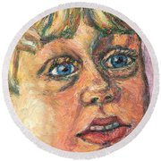 Wonder Round Beach Towel